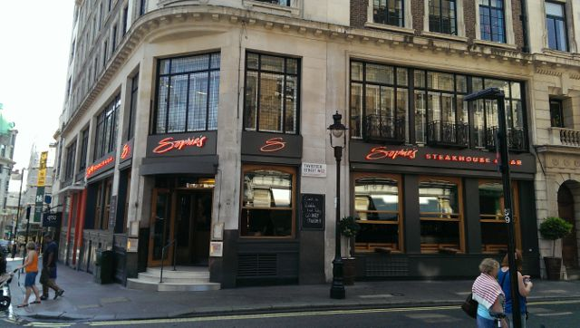 Sophies Steakhouse, Covent Garden in London