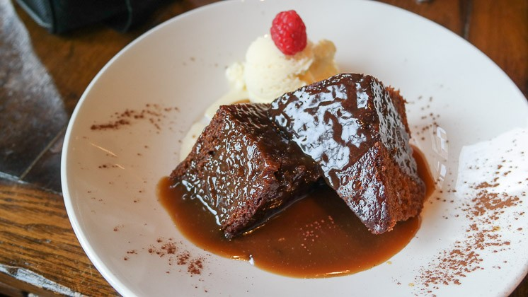 Sticky Giner Pudding - The Windmill in Sevenoaks Weald, Kent
