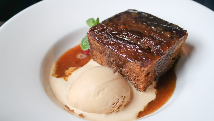 Sticky Toffee Pudding - Bel and Dragon in Kingsclear, Newbury