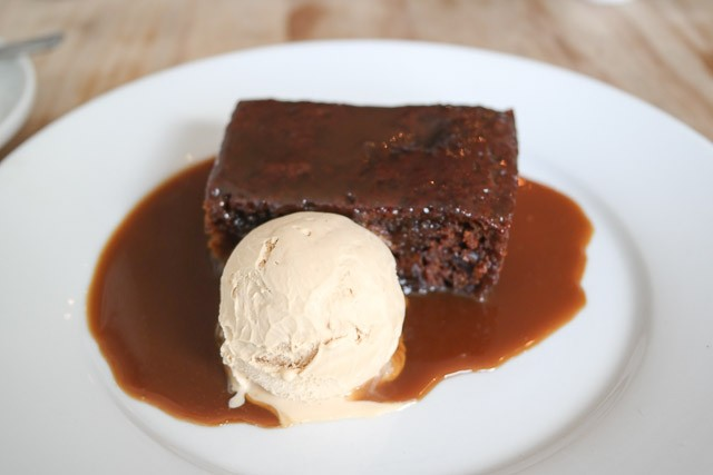 Sticky Toffee Pudding  - The Oxford, Whitstable in Kent
