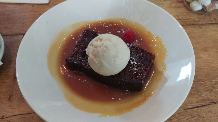 Sticky Toffee Pudding - The Poacher & Partridge, Tudeley in Tonbridge, Kent