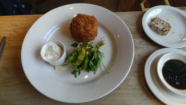 The Bell Inn, Godstone, Surrey - Fish Cake Starter