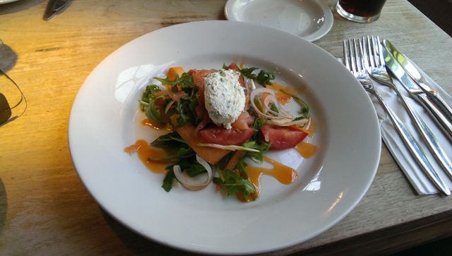 The Bell Inn, Godstone, Surrey - Salmon Starter