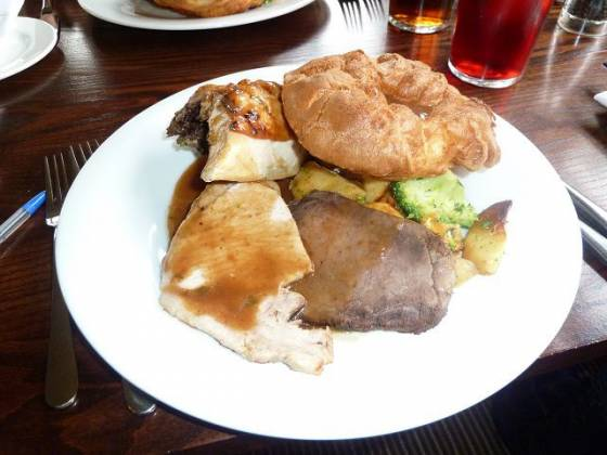 The Bridge Hotel, Greenford - Mixed Roast Meat