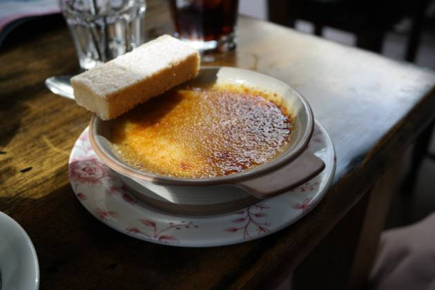 The Bunk Inn, Curridge nr Newbury - Creme Brulee