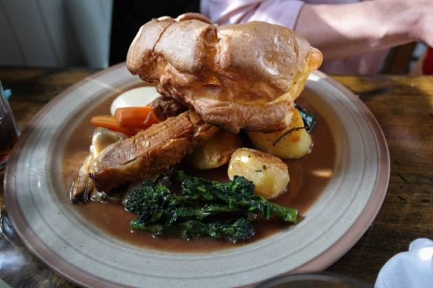The Bunk Inn, Curridge nr Newbury - Roast Pork