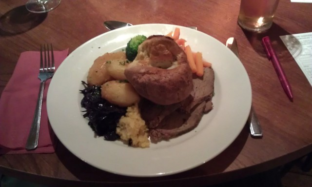 The Crown Inn Roast Beef meal image