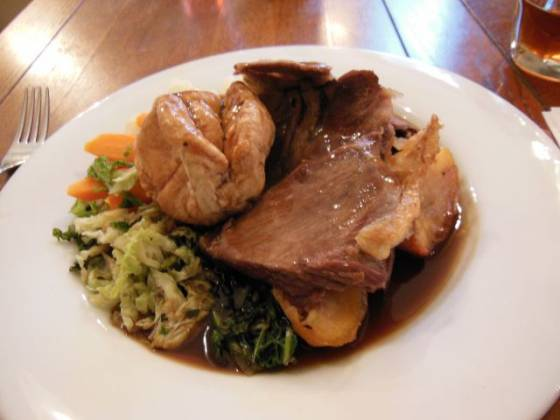 The Fox in Keston, Bromley - Roast Lamb