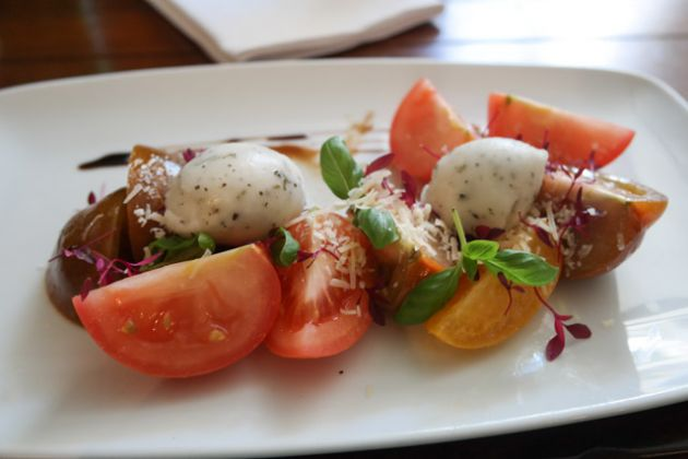 The George & Dragon, Chipstead in Sevenoaks - Heritage Tomato Salad