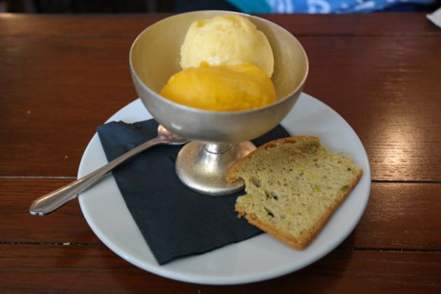 The George & Dragon, Chipstead in Sevenoaks - Mango and Blood Orange Sorbet
