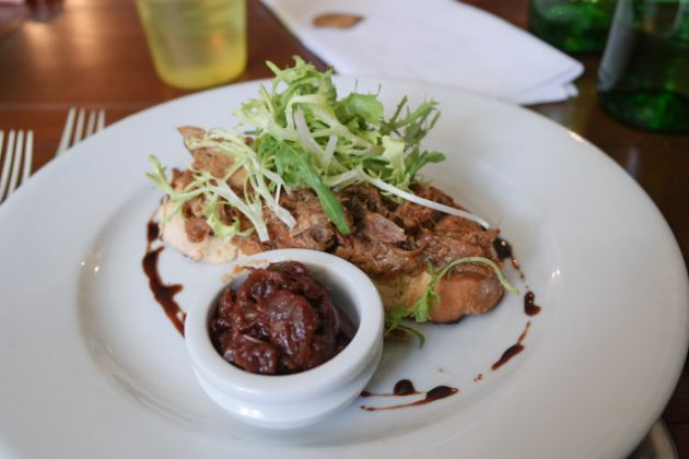 The George & Dragon, Chipstead in Sevenoaks - Smoked Pulled Pork Rillette