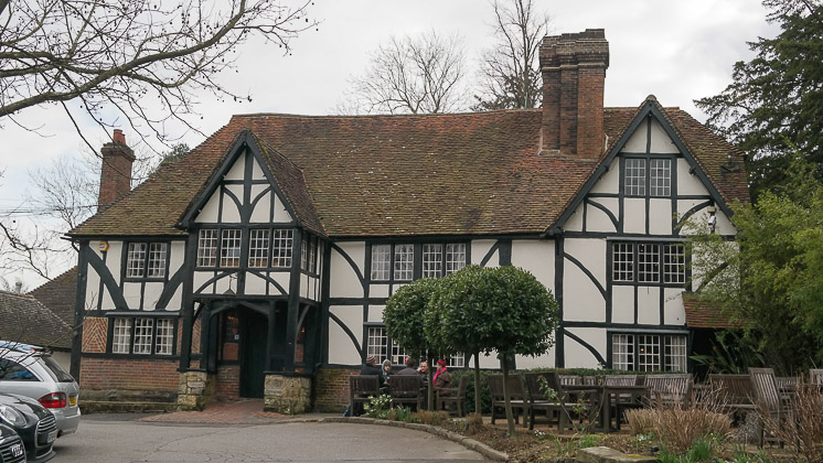 The George and Dragon, Speldhurst in Royal Tunbridge Wells, Kent