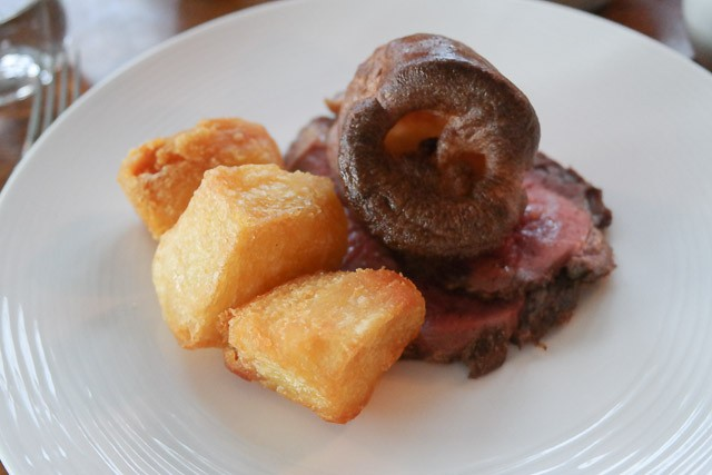 The Hinds Head, Bray - Roast Beef