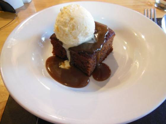 The Horns in Otford, Sevenoaks - Sticky Toffee Pudding