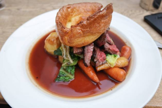 The Laughing Gravy, Southwark, London - Roast Beef