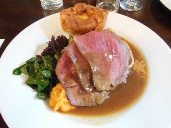 The Lord Northbrook , Lee in Lewisham, London - Roast Beef