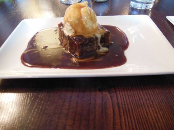 The Lord Northbrook , Lee in Lewisham, London - sticky toffee pudding