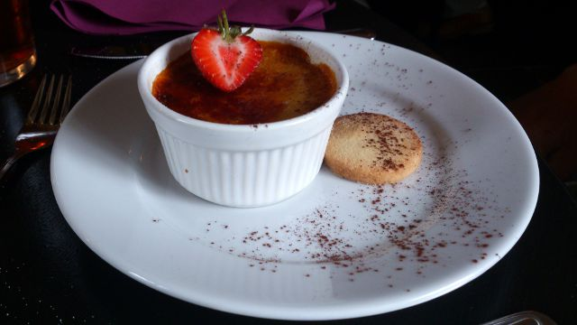 The Moody Cow, Upton Bishop - Creme Brulee