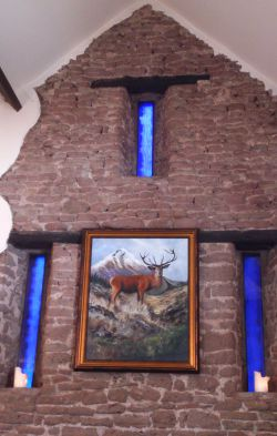 The Moody Cow, Upton Bishop - Feature Wall