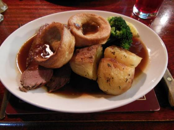 The Old Jail, Biggin Hill in Westerham, Kent - Roast Beef