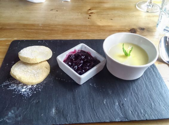 The Pearson Arms, Whitstable - lemon posset
