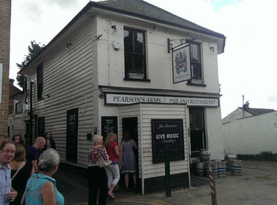 The Pearson Arms, Whitstable nr Canterbury, Kent