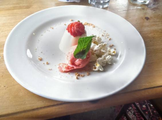 The Pearson Arms, Whitstable - panna cotta