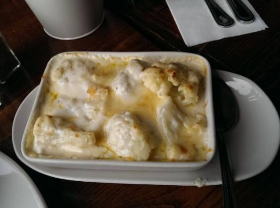 The Phoenix, Denmark Hill - Cauliflower Cheese