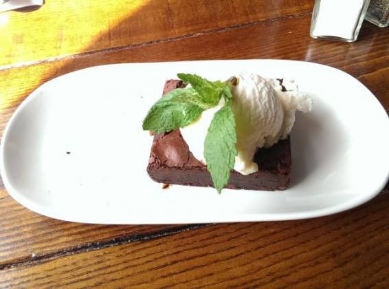 The Phoenix, Denmark Hill - Chocolate Brownie