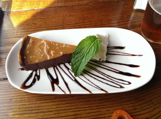 The Phoenix, Denmark Hill - Salted Caramel Tart