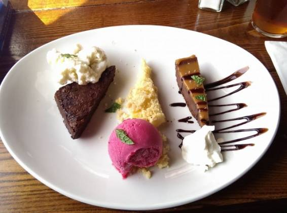 The Phoenix, Denmark Hill - Sharing Dessert