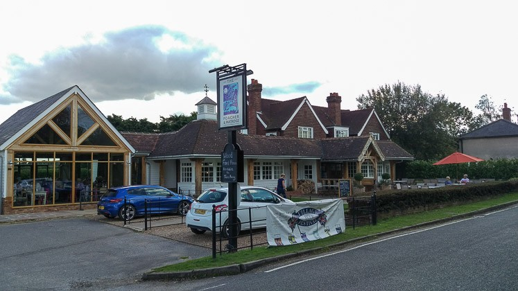 The Poacher & Partridge in Tudeley in Tonbridge, Kent