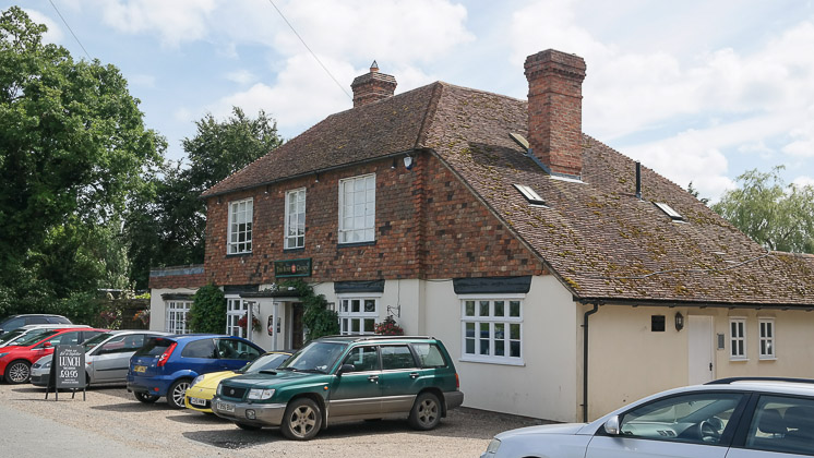 The Rose and Crown, Pluckley in Ashford, Kent