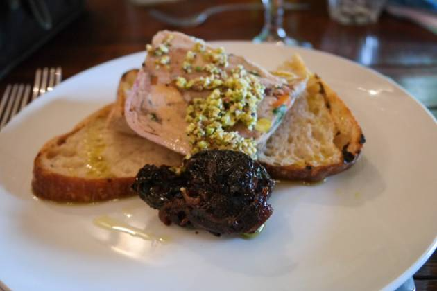 The Rosendale in West Dulwich, London - Pork & Pistachio Terrine