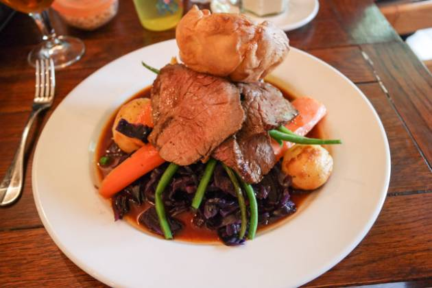 The Rosendale in West Dulwich, London - Roast Beef