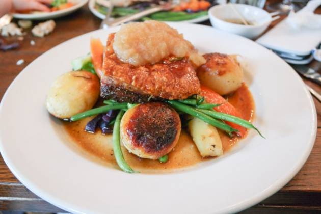 The Rosendale in West Dulwich, London - Roast Pork Belly