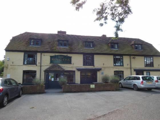 The Royal Oak in Brooklands, Romney Marsh, Kent