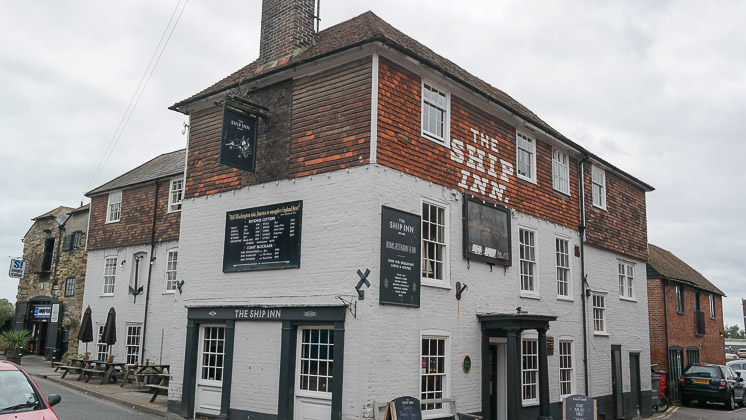 The Ship Inn, Rye in East Sussex