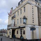 The Trafalgar Tavern, Greenwich in London