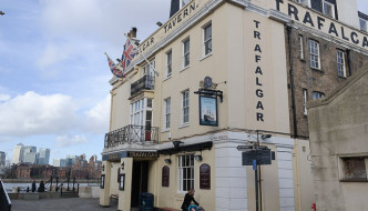 The Trafalgar Tavern, Greenwich in London