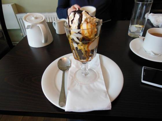 The Tudor Kitchen, Sidcup in Bexley, Kent - Brownie Sundae