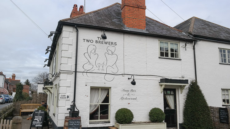 The Two Brewers in Shoreham near Sevenoaks, Kent