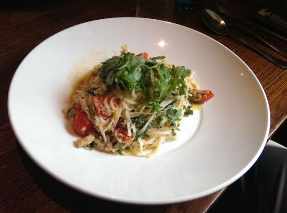 The Vineyard, Lamberhurst in Tunbridge Wells - Crab Linguine
