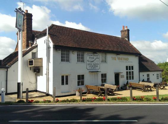 The Vineyard, Lamberhurst in Tunbridge Wells, Kent