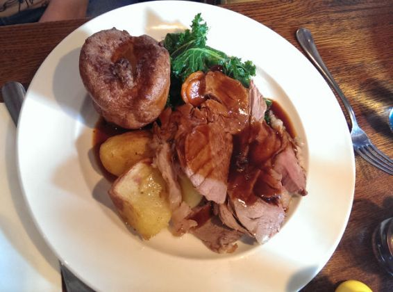 The Vineyard, Lamberhurst in Tunbridge Wells - Roast Lamb