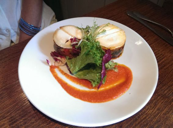 The Vineyard, Lamberhurst in Tunbridge Wells - Roast Vegetable Tian