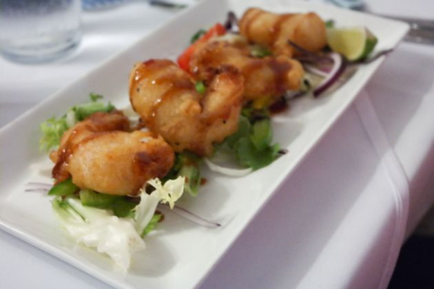 The White Hart in Hythe, Kent - Thai Battered Prawns