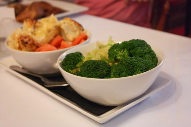The White Hart in Hythe, Kent - Vegetable Selection