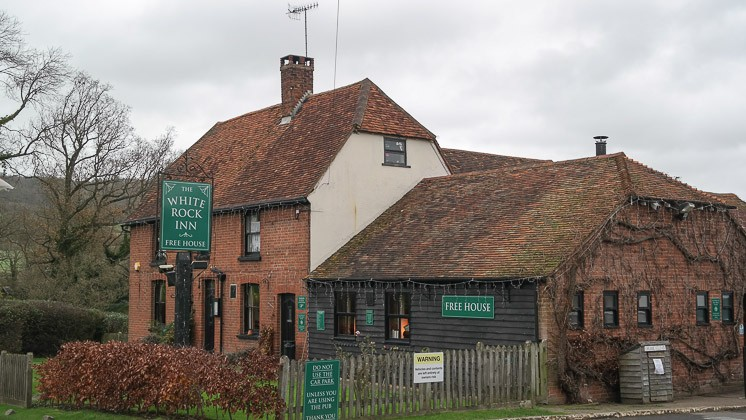 The White Rock Inn, Sevenoaks in Kent