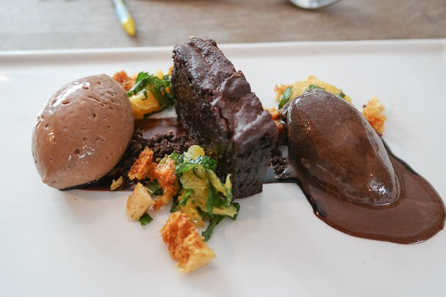 Trio of Chocolate Dessert - Deesons in Canterbury, Kent